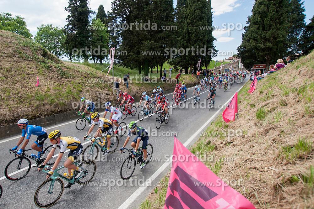 Ivan Savitskiy of Gazprom-Rusvelo and Jos Van Emden of Lotto NL-Jumbo during the 13 stage of 99th Giro d'Italia from Palmanova to Cividale del Friuli, on May 20, 2016 in Palmanova, Italy. Photo by Joze Urbanc / Sportida