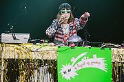 Photos of DJ Flugvel og Geimskip performing live at Secret Solstice Music Festival 2014 in Reykjavík, Iceland. June 22, 2014. Copyright © 2014 Matthew Eisman. All Rights Reserved