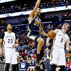 02-10-2016 Utah Jazz at New Orleans Pelicans