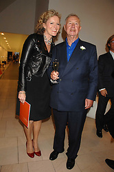 SIR TERENCE & LADY CONRAN at the 2007 Luxury Briefing Awards at B&B Italia, 250 Brompton Road, London SW3 on 4th October 2007.<br />