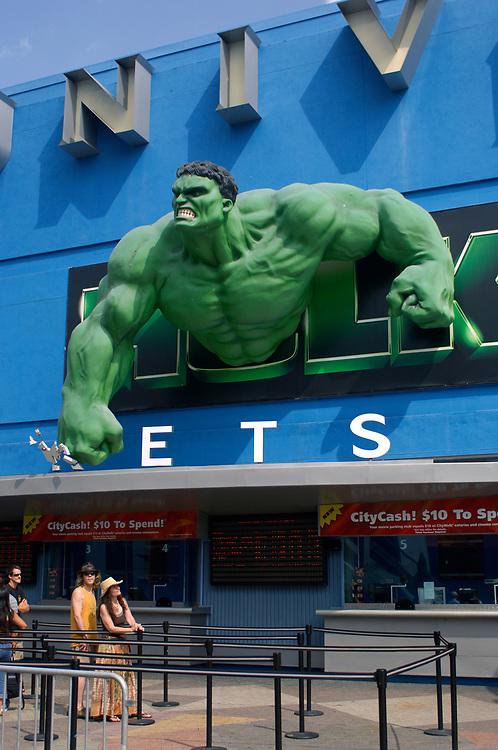 City Walk, Universal City, Universal Studios, Hollywood, Los Angeles, California, United States of America