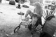 Hippy Chopper, Glastonbury, 1995.
