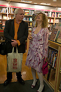 FRANCIS WHEEN AND HIS EX WIFE JOAN SMITH, Andrew Hosken - book launch party for 'Ken'<br />