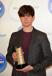 Mercury Prize. <br /> JAMES BLAKE attends the Barclaycard Mercury Prize at The Roundhouse, London, United Kingdom. Wednesday, 30th October 2013. Picture by i-Images