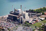 Wyandotte Municipal power plant