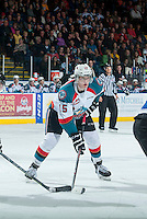 KELOWNA, CANADA - MARCH 11: Tomas Soustal #15 of Kelowna Rockets skates against the Victoria Royals  on March 11, 2015 at Prospera Place in Kelowna, British Columbia, Canada.  (Photo by Marissa Baecker/Shoot the Breeze)  *** Local Caption *** Tomas Soustal;