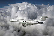 Gulfstream V business jet