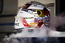 September 20, 2019, Singapore, Singapore: Motorsports: FIA Formula One World Championship 2019, Grand Prix of Singapore, ..Helmet of #33 Max Verstappen (NLD, Aston Martin Red Bull Racing) (Credit Image: © Hoch Zwei via ZUMA Wire)