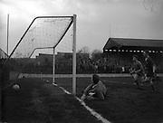 29/01/1961<br /> 01/29/1961<br /> 29 January 1961<br /> Soccer, League of Ireland: Drumcondra v Cork Celtic at Tolka Park, Dublin.