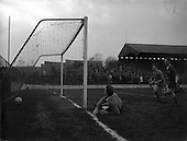 1961 - League of Ireland: Drumcondra v Cork Celtic at Tolka Park