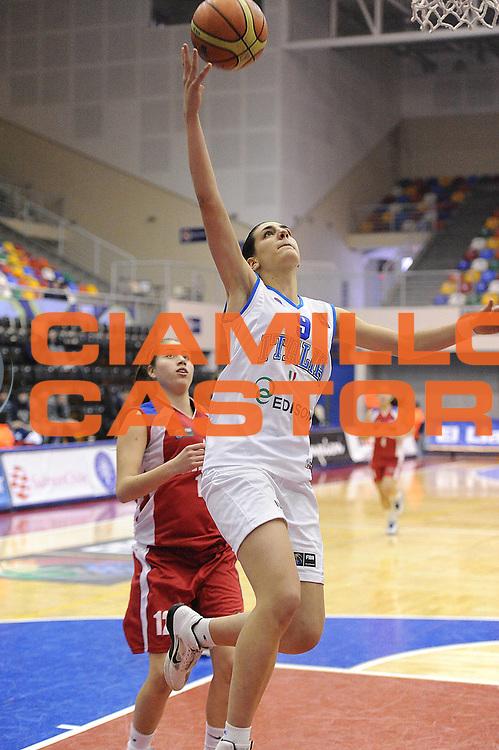 DESCRIZIONE : Chile Cile U19 Women World Championship 2011 Italy Chile Italia Cile<br /> GIOCATORE : Giovanna Pertile<br /> SQUADRA : Italia Italy<br /> EVENTO : Chile Cile U19 Women World Championship 2011 <br /> GARA : Italy Chile Italia Cile<br /> DATA : 29/07/2011<br /> CATEGORIA : tiro penetrazione<br /> SPORT : Pallacanestro <br /> AUTORE : Agenzia Ciamillo-Castoria/C.De Massis<br /> Galleria : Fiba U19 World Championship Women Chile 2011<br /> Fotonotizia : Chile Cile U19 Women World Championship 2011 Italy Chile Italia Cile<br /> Predefinita :