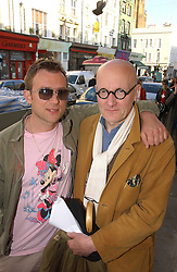 Left to right, DAMON ALBARN and drummer RAY COOPER at Grand Classics, London: Screening of Dr Strangelove held at The Electric Cinema, Portobello Road, London on 3rd May 2006.<br /><br />NON EXCLUSIVE - WORLD RIGHTS