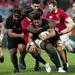 Ardie Savea during game 9 of the British and Irish Lions 2017 Tour of New Zealand, the second Test match between  The All Blacks and British and Irish Lions, Westpac Stadium, Wellington, Saturday 1st July 2017<br /> (Photo by Kevin Booth Steve Haag Sports)<br /> <br /> Images for social media must have consent from Steve Haag