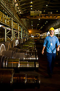 Ouro Branco_MG, Brasil...Industria siderurgica em Ouro Branco, Minas Gerais...The steel industry in Ouro Branco, Minas Gerais...Foto: LEO DRUMOND /  NITRO