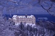 Heiligenberg Castle, Lake Constance Region, Germany, film image