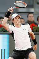 Andy Murray during the Madrid Open at Manzanares Park Tennis Centre, Madrid<br /> Picture by EXPA Pictures/Focus Images Ltd 07814482222<br /> 06/05/2016<br /> ***UK &amp; IRELAND ONLY***<br /> EXPA-ESP-160506-0008.jpg