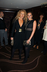 Left to right, interior designer KELLY HOPPEN and her daughter NATASHA CORRETT at a party following the premier of Blood Diamonds hosted by Amnesty at The Dorchester, Park Lane, London on 23rd January 2007.<br />