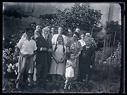 large family group portrait France 1930s