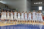 DESCRIZIONE : Roseto Degli Abruzzi Giochi del Mediterraneo 2009 Mediterranean Games Turchia Italia Turkey Italy Final Men<br /> GIOCATORE : team<br /> SQUADRA : Italia Italy<br /> EVENTO : Roseto Degli Abruzzi Giochi del Mediterraneo 2009<br /> GARA : Turchia Italia Turkey Italy <br /> DATA : 04/07/2009<br /> CATEGORIA : team<br /> SPORT : Pallacanestro<br /> AUTORE : Agenzia Ciamillo-Castoria/C.De Massis<br /> Galleria : Giochi del Mediterraneo 2009<br /> Fotonotizia : Roseto Degli Abruzzi Giochi del Mediterraneo 2009 Mediterranean Games Turchia Italia Turkey Italy Final Men <br /> Predefinita : si