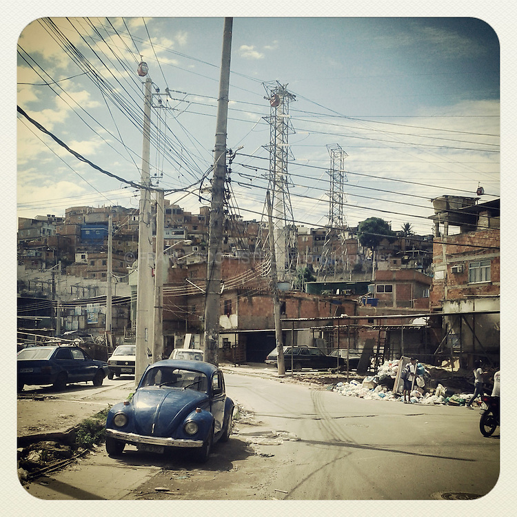 April 2013. Rio de Janeiro; Brazil. &quot;Complexo do Alem&atilde;o&quot; is a group of favelas in northern Rio. <br /> Just after the occupation of the Complexo do Alem&atilde;o and Vila Cruzeiro by the Army, november 2010: the attacks on vehicles stopped and crisis came to an end. The police managed to apprehend around 40 tonnes of marijuana and 250 kilos of cocaine along with many other illicit drugs, dozens of weapons including pistols, assault rifles, explosives, machine guns, hundreds of stolen motorcycles and more than 30 stolen cars. The drugs were destroyed while the police is charged with the task of return the stolen vehicles to their rightful owners. The losses suffered by the criminals are stated to surpass 200 million reais (around 120 million US dollars), not including the confisticated houses belonged to the faction's main leaders, fully equipped with many luxury items including multiple pools, jacuzis and high level electronic hardware.<br /> Through a deal between the State government and the Federal government, the troops will remain stationed in the occupied area until a permanent police force is installed to maintain security. Despite the fact that most of the criminals managed to escape, the operation is considered by the local media as a major victory against crime in Rio de Janeiro and a turning point in the war against drug trafficking in Brazil.