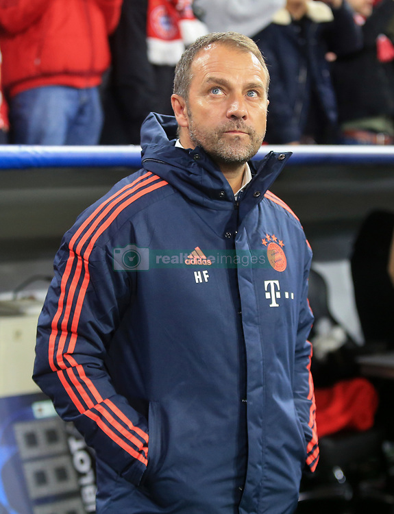 MUNICH, Nov. 7, 2019  Interim head coach Hans-Dieter Flick of Bayern Munich reacts before a UEFA Champions League group B match between FC Bayern Munich of Germany and Olympiacos Piraeus of Greece in Munich, Germany, on Nov. 6, 2019. (Photo by Philippe Ruiz/Xinhua) (Credit Image: © Fei Lipu¡¤Luyizi/Xinhua via ZUMA Wire)