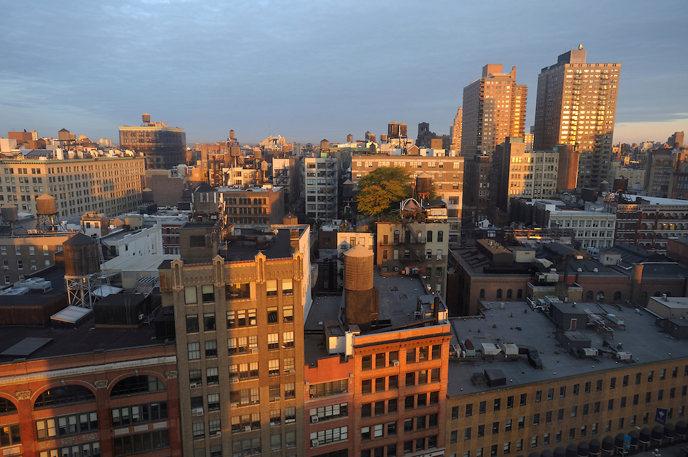 view from The Cooper Square Hotel, Cooper Square, East Village, Manhattan, New York, New York, USA