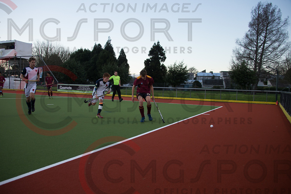 RANKIN CUP HOCKEY<br /> KINGS COLLEGE v HASTINGS BOYS HIGH<br /> Gallagher Park, Hamilton<br /> 20170904<br /> Photo Kevin Clarke CMGSPORT<br /> &copy;cmgsport