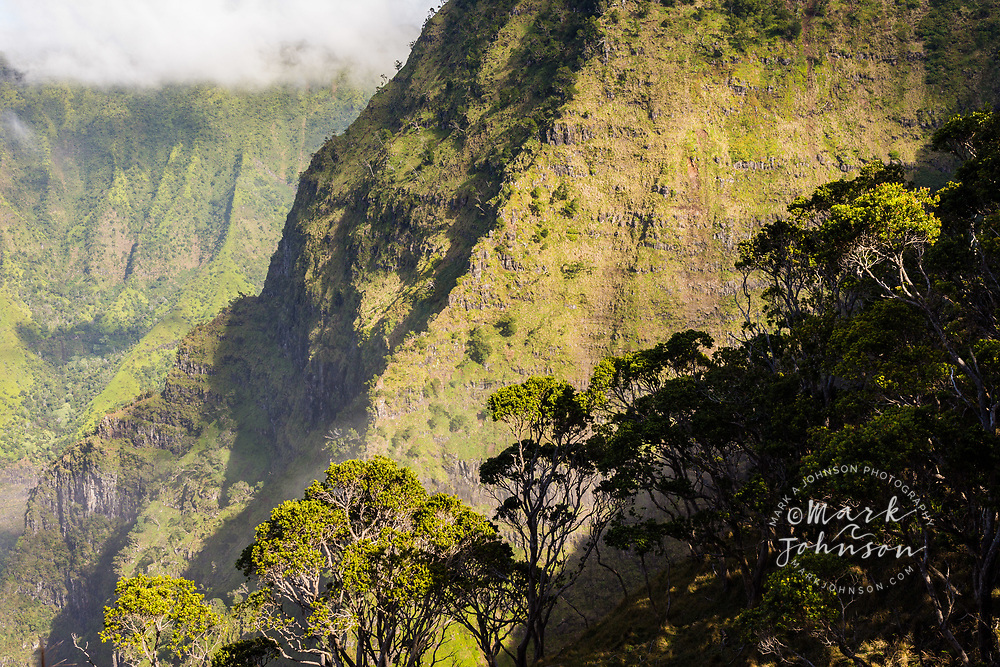 Kalalau Valley, Na Pali Coast, Kauai, Hawaii