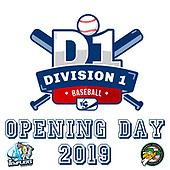 Division 1 Baseball - Opening Day - Senart - La Rochelle