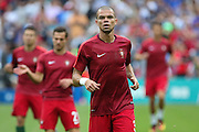 Portugal Defender Pepe in warm up during the Euro 2016 final between Portugal and France at Stade de France, Saint-Denis, Paris, France on 10 July 2016. Photo by Phil Duncan.