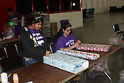 """The Davis High School JROTC helped wrap 25,000 gifts for thousands of children with disabilities from underprivileged homes. The volunteer opportunity known as """"Be An Angel"""" was held at the George R. Brown Convention Center.<br /> To submit photos for inclusion in eNews, send them to hisdphotos@yahoo.com."""