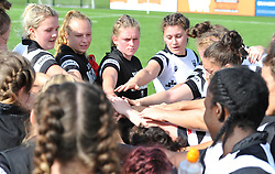 Post match huddle - Mandatory by-line: Paul Knight/JMP - 02/09/2018 - RUGBY - Shaftsbury Park - Bristol, England - Bristol Bears Women v Dragons Women - Pre-season friendly
