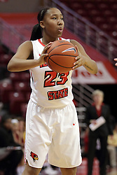21 December 2015: Viria Livingston(23). Illinois State University Women's Basketball team hosted The Cougars of Chicago State at Redbird Arena in Normal Illinois.