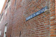 Enkhuizen, borden, straatnaamborden, Noord holland, Netherlands