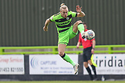 Forest Green Rovers Joseph Mills(23) controls the ball during the EFL Sky Bet League 2 match between Forest Green Rovers and Macclesfield Town at the New Lawn, Forest Green, United Kingdom on 13 April 2019.