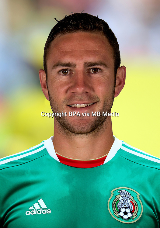 Football Fifa Brazil 2014 World Cup / <br /> Mexico National Team - <br /> Miguel LAYUN  of Mexico