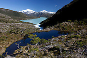 Aysen, Chile. February 24th 2010..O'Higgins lake, headwaters of the Pascua river.©Daniel Beltra