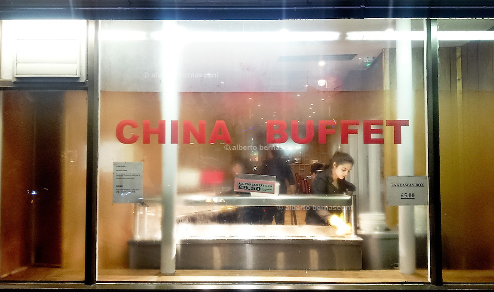 London, chinese restaurant in Leicester square
