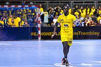 Ibrahima SALL - 17.12.2014 - Tremblay en France / Saint Raphael - 14eme journee de Championnat de France de D1<br /> Photo : Aurelien Meunier / Icon Sport