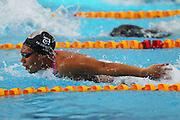 Gabrielle Fa'amausili, womens 50m butterfly, New Zealand Short Course Swimming Championships, Sir Owen G. Glenn National Aquatic Centre, AUT Millennium, Auckland. 11 August 2015. Copyright Photo: William Booth / www.photosport.nz