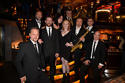 The Commitments at the Quaglino's Q Legends Summer Launch Party hosted by Henry Conway at Quaglino's, 16 Bury Street, London England. 18 July 2017.
