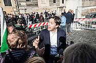 Emiliano Albensi<br /> 29/10/2016 Roma (Italia)<br /> Manifestazione PD Basta un S&igrave;<br /> Nella foto: il sindaco di Firenze, Dario Nardella<br /> <br /> Emiliano Albensi<br /> 29/10/2016 Rome (Italy)<br /> Democratic Party demonstration in support of the Constitutional Reform referendum<br /> In the picture: the mayor of Florence, Dario Nardella