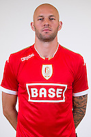 Standard's Jelle Van Damme pictured during the 2015-2016 season photo shoot of Belgian first league soccer team Standard de Liege, Monday 13 July 2015 in Liege.