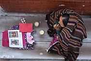 Tibetan women praying.