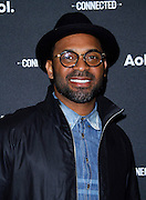 Mike Epps attends the 2014 AOL Newfront at the Duggal Greenhouse in the Brooklyn Navy Yard in Brooklyn, New York in April 29, 2014.