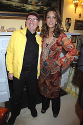 STEPHEN MAHONEY and MISS KOKOLY FALLAH at a party to celebrate the 21st birthday of one of Richard & Basia Brigg's horses held at 35 Sloane Gardens, London W1 on 10th September 2007.<br />