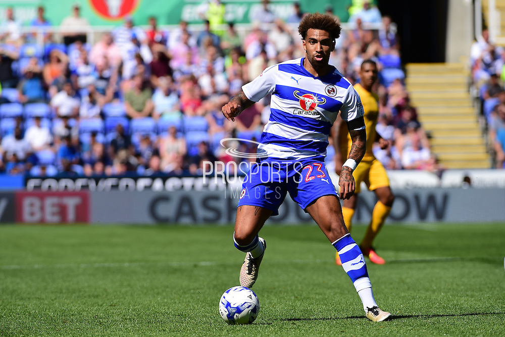 Reading midfielder Danny Williams (23) in action during the EFL Sky Bet Championship match between Reading and Preston North End at the Madejski Stadium, Reading, England on 6 August 2016. Photo by Jon Bromley.