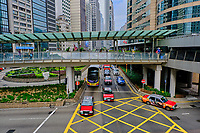 Chine, Hong Kong, Hong Kong Island, Connaught road // China, Hong-Kong, Hong Kong Island, Central, Connaught road