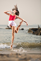 Dance As Art Photography Project- Coney Island Brooklyn, New York with dancer, Erin Aslami