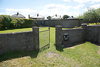 05/06/2014 The site where apparently 800 babies are buried  on the grounds of a (now demolished for a housing setae and playground) Mother and Baby home in Tuam Co Galway. Photo:Andrew Downes.